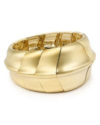 Robert Lee Morris - Metallic Stretch Bracelet - Lyst