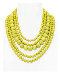 "BaubleBar - Yellow 18"" - Lyst"