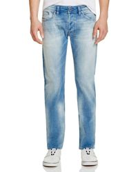 DIESEL - Blue Safado Slim Straight Jeans In Denim - Compare At $178 for Men - Lyst