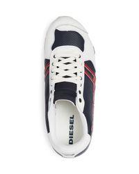 DIESEL Multicolor Harold Solar Lace Up Sneakers for men