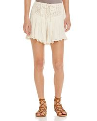 Jen's Pirate Booty - White Las Flores Bloomer Shorts - Lyst