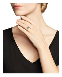 Marco Bicego | 18k Yellow Gold Jaipur Ring With Blue Topaz | Lyst