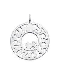 Tous | Metallic Sterling Silver Mama Pendant | Lyst