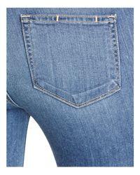 PAIGE Blue Denim Verdugo Crop Jeans In Janson