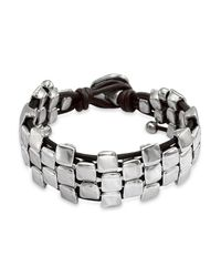 Uno De 50 - Metallic Nailed Bracelet - Lyst