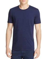 BOSS - Blue Tessler Slim Fit Tee for Men - Lyst