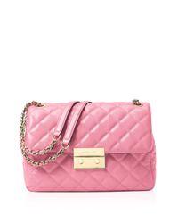 MICHAEL Michael Kors Pink Extra Large Sloan Chain Shoulder Bag