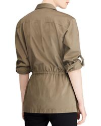 Ralph Lauren - Green Lauren Drawstring Utility Jacket - Lyst