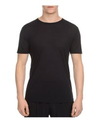 ATM | Black Atm Modal Slim Fit Crewneck Tee for Men | Lyst