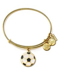 ALEX AND ANI - Metallic Team Usa Soccer Expandable Wire Bangle - Lyst