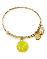 ALEX AND ANI | Metallic Team Usa Tennis Expandable Wire Bangle | Lyst