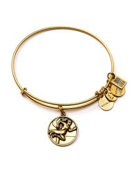 ALEX AND ANI | Metallic Team Usa Track And Field Expandable Wire Bangle | Lyst