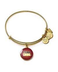 ALEX AND ANI - Metallic Charity By Design Fearless Expandable Wire Bangle - Lyst