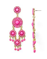 BaubleBar - Pink Sundrop Earrings - Lyst