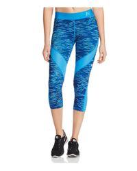 Nike Blue Pro Hypercool Reflect Capri Leggings