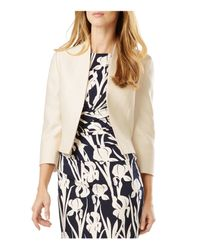 Phase Eight - Natural Ellie Open Jacket - Lyst