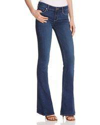 PAIGE | Blue Bentley Wide Leg Jeans | Lyst