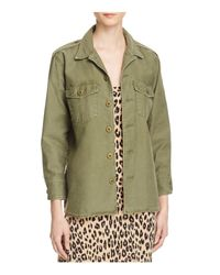 Equipment - Green Kate Moss For Major Shirt Jacket - Lyst