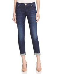 True Religion | Blue True Religion Becky Bootcut Jeans in Petite Length | Lyst