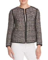 Lafayette 148 New York | Black Menon Tweed 3-Button Jacket | Lyst