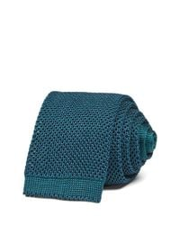 Thomas Pink | Blue Gregory Texture Knit Skinny Tie - 100% Exclusive for Men | Lyst