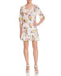 Yumi Kim - Multicolor Stefee Shirred Floral Print Dress - Lyst