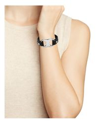 Tory Burch   Multicolor Gemini Link Leather Bracelet   Lyst