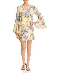 Yumi Kim - Multicolor Festival Floral Bell Sleeve Dress - Lyst