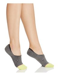 Stance - Gray Super Invisible Vampette Liner Socks - Lyst