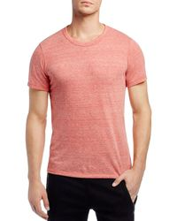 Alternative Apparel - Red Crewneck Tee for Men - Lyst