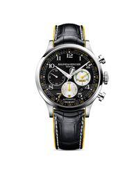 Baume & Mercier   Black Capeland Shelby Cobra Chronograph Watch  for Men   Lyst