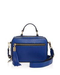 MILLY - Blue Small Astor Satchel - Lyst