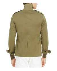 Polo Ralph Lauren - Green Cotton Blend Utility Jacket for Men - Lyst