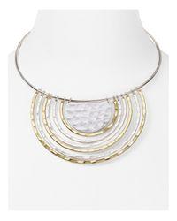 Robert Lee Morris | Metallic U Pendant Necklace | Lyst