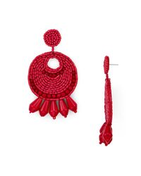 Kenneth Jay Lane | Red Gypsy Earrings | Lyst