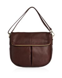 1eac835ba9 Whistles Duffy Zip Shoulder Bag in Red - Lyst