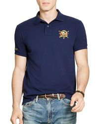 Polo Ralph Lauren | Blue Featherweight Slim Fit Polo Shirt for Men | Lyst