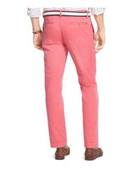 Polo Ralph Lauren Pink Bedford Straight Fit Chino Pants for men