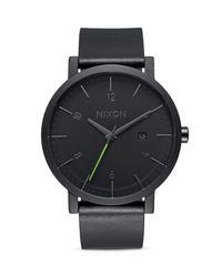 Nixon   Black Rollo Watch, 42mm for Men   Lyst
