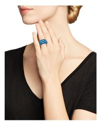Ippolita - Blue Sterling Silver Rock Candy® Wonderland Cluster Dome Ring In Frost - Lyst