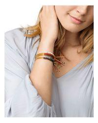 Gorjana - Multicolor Orange Agate Confidence Bracelet - Lyst