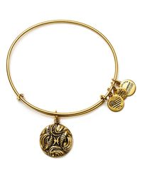 ALEX AND ANI | Metallic Pisces Expandable Wire Bangle | Lyst