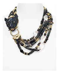 Alexis Bittar | Black Crystal Encrusted Multi-strand Panther Necklace You Might Also Like | Lyst