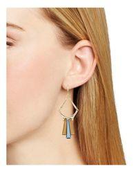 Robert Lee Morris - Metallic Geometric Drop Earrings - Lyst
