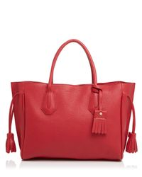Longchamp | Red Medium Penelope Tote | Lyst