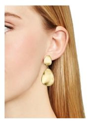 Argento Vivo - Metallic Mirrored Drop Earrings - Lyst
