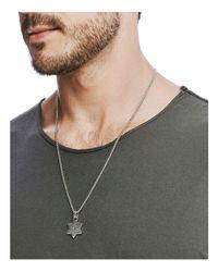 John Hardy - Metallic Men's Star Of David Pendant Necklace - Lyst