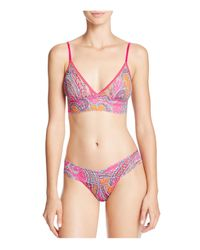 Hanky Panky - Multicolor Signature Lace Low Rise Thong - Lyst
