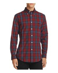 Brooks Brothers | Red Plaid Classic Fit Button-down Shirt for Men | Lyst