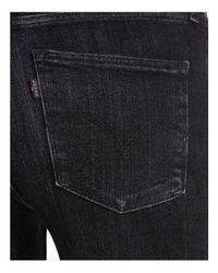 Levi's Blue 710 Super Skinny Selvedge Jeans